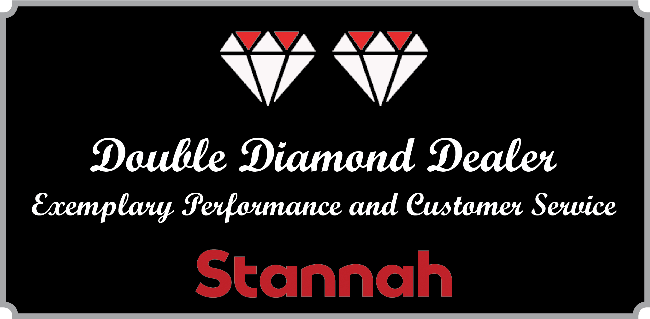Double Diamond Award by Stannah