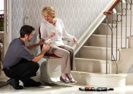 installation of stairlift