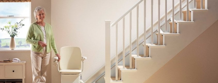 stairlift for easy mobility