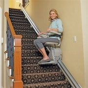 Home Stairlift Requires Minimal Space