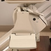 Stairlift Footrest safety sensors
